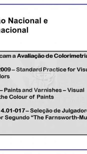 Foto Teste de cores